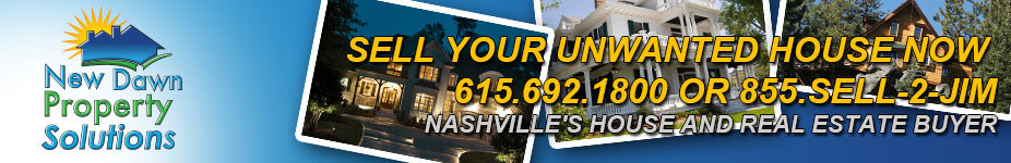 Nashville Cash House Buyer | Sell Your Nashville House AS IS Fast For Cash header image